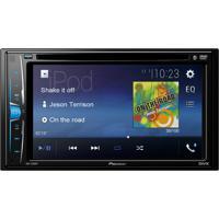 "Dvd Player Automotivo Pioneer Avh-A208Bt 2-Din Tela De 6,2"" Bluetooth"
