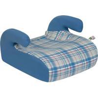 Cadeira Para Auto 15 A 36 Kg Safety E Comfort Xadrez Jeans Azul Tutti Baby
