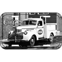 Placa De Metal Coca Cola Caminhão Vintage Placa Decorativa De Metal Coca Cola Caminhão Vintage