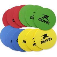 Marcadores Para Treinamento Muvin Mtf-100 - Unissex