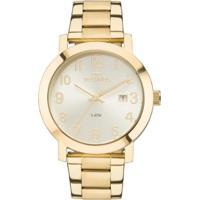 34c434cf7aa ... Relógio Feminino Technos Dress 2115Mnd 4X Pulseira Aço Dourada -  Feminino-Dourado