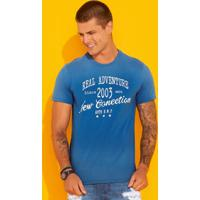 Camiseta Azul Claro Real Adventure