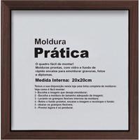 Moldura Decora 20X20 Imbuia