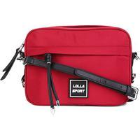 Bolsa Santa Lolla Sport Nylon Feminina - Feminino-Vermelho Escuro