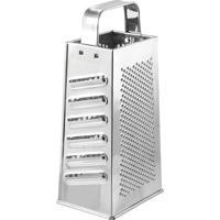Ralador Com 4 Lados- Prateado- 23X11X8Cmhudson