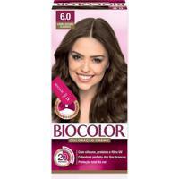 Tintura Biocolor Coloração Creme Louro Escuro 6.0 Mini Kit