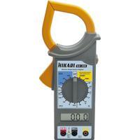 Alicate Amperímetro Digital Hikari Ha300 - Cinza/Amarelo Cinza/Amarelo