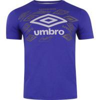 Camiseta Umbro Twr Legacy Classic - Masculina - Azul