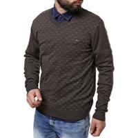 Suéter Merlin Masculino - Masculino-Marrom