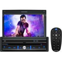"""Dvd Player Automotivo Pósitron Sp6300Av Com Tela Lcd 7"""" Touch Screen, Conexão Usb (Traseira) E Auxiliar Frontal E Controle Remoto"""