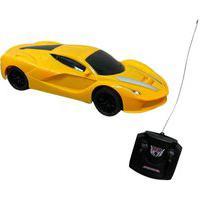 Carrinho De Controle Remoto Importway 4 Funções 1:24 Amarelo Bw155Am