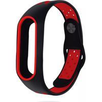 Pulseira Dagg Bracelete Pedômetro Running - Vermelho