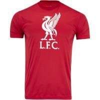 Camiseta Liverpool Bird - Masculina - Vermelho