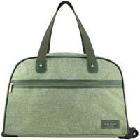 Bolsa De Viagem Jacki Design Com Rodinhas Be You - Unissex-Verde