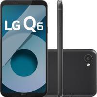 Smartphone Lg Q6 M700Tv 32Gb Desbloqueado Preto