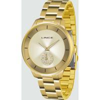 Relógio Feminino Strass Lince Lrgh067L C1Kx