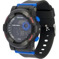 Relógio Digital Mormaii Nxt Kids Mo9081Aa - Infantil - Preto/Azul