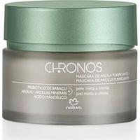 Máscara De Argila Purificante Chronos - 70G