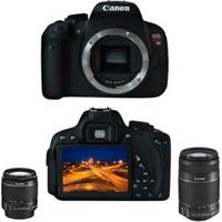 Câmera Digital Canon Eos Rebel T5I Premium Kit Com 2 Lentes