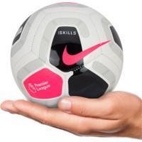Minibola De Futebol De Campo Nike Premier League Skills - Branco/Preto