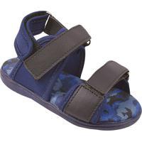 Papete Camuflada - Azul Escuro & Azul Marinho- Bambibambini