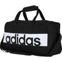 Mala Adidas Ess Linear S - Preto/Branco