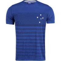Camiseta Do Cruzeiro Graphic 19 - Masculina - Azul