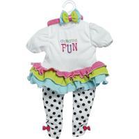 Roupa Para Bonecas - Adora Doll - Macacão - Circus Fun - Shiny Toys - Feminino-Incolor