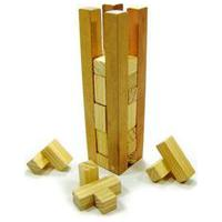 Quebra-Cabeça Kits E Gifts Na Torre Madeira Amarelo
