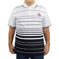 Camiseta Polo Vasco Da Gama Oficial Plus Size Masculina - Masculino