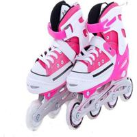 Patins Bel Sports All Style Street Rollers - Unissex-Rosa