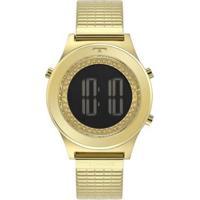 Relógio Technos Digital Feminino - Feminino-Dourado