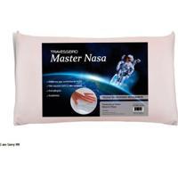 Travesseiro Viscoelástico Master Nasa Altura 10 Cm