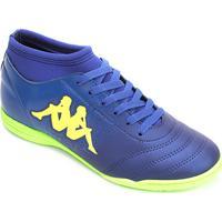 33de4858ea Netshoes  Chuteira Futsal Kappa Agility - Unissex
