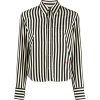 Ami Paris Camisa Estilo Boxy - Neutro