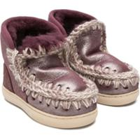 Mou Kids Metallic Eskisneakers - Roxo