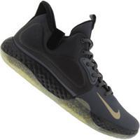 Tênis Nike Kd Trey 5 Vii - Masculino - Cinza Esc/Ouro