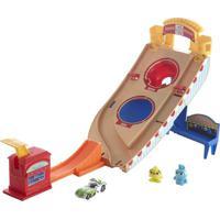 Veículo E Pista De Percurso - Hot Wheels - Disney - Pixar - Toy Story 4 - Buzz Lightyear - Mattel