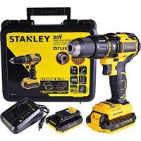 Furadeira Parafusadeira Impacto Bateria 20V Sbh20S2K Stanley Bivolt