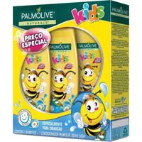 Kit 2 Shampoos + 1 Condicionador Palmolive Naturals Kids 350Ml - Incolor - Dafiti