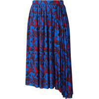 Kenzo Phoenix Print Skirt - Azul