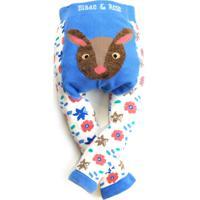 Meia Calça Legging Fluffy Rena Blade And Rose Azul