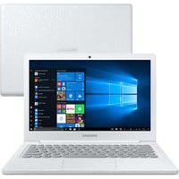 """Notebook Samsung, Intel Celeron N4000, 4Gb, 128Gb, Tela 13,3"""", Branco Giz, Flash F30 - Np530Xbb-Ad2Br"""
