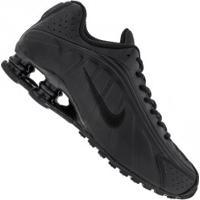 Tênis Nike Shox R4 - Masculino - Preto/Preto