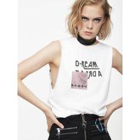 Camiseta Regata Diesel T-Solari-I Branca