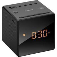 Rádio Relógio Sony Icf-C1 Am/Fm Preto 127 Volts