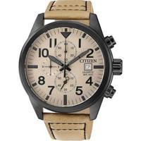 Relógio Citizen Masculino - Masculino-Bege+Preto