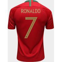 385d2af15513c Netshoes  Camisa Seleção Portugal Home 2018 N° 7 Ronaldo - Torcedor Nike  Masculina - Masculino