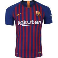 Camisa Barcelona I 18/19 Nike - Jogador - Azul Escuro