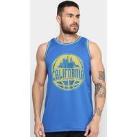 Regata Gonew Califórnia Masculina - Masculino-Azul